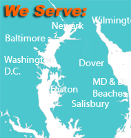 Paradisegraphicarts.com  supports Eastern Shore of MD Baltimore, Washington DC, Annapolis, Kent Island, Newark, Dover, Wilmington and Beaches of DE and MD